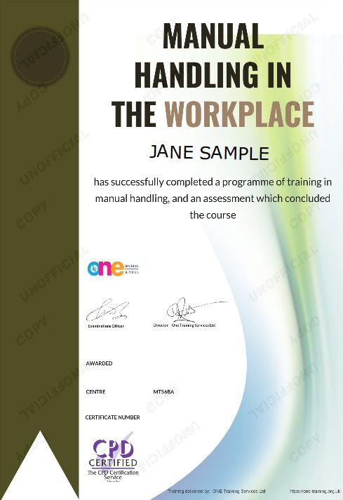 The Final Certificate Of The